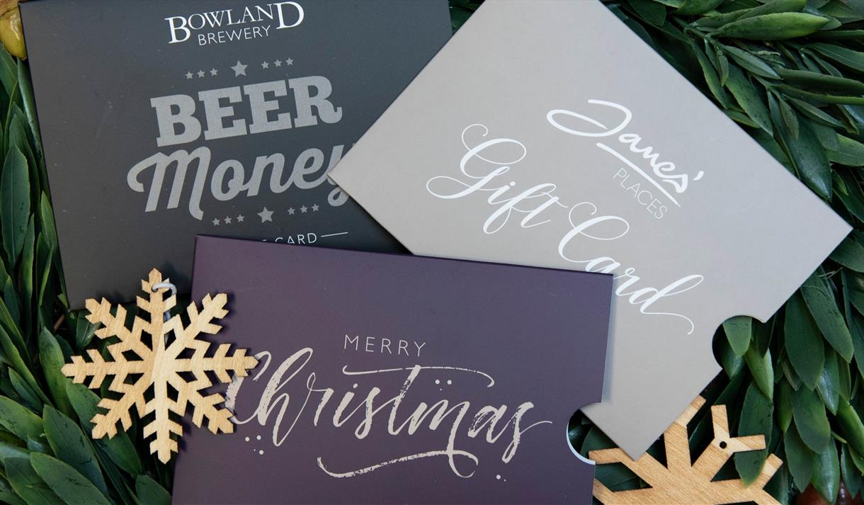 Christmas Gift Experiences & Gift Cards From James\' Places ...
