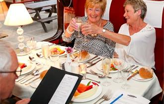 Dining with Distinction at East Lancashire Railway