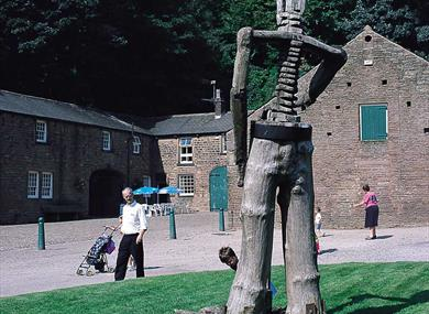 Sculpture at Witton Country Park