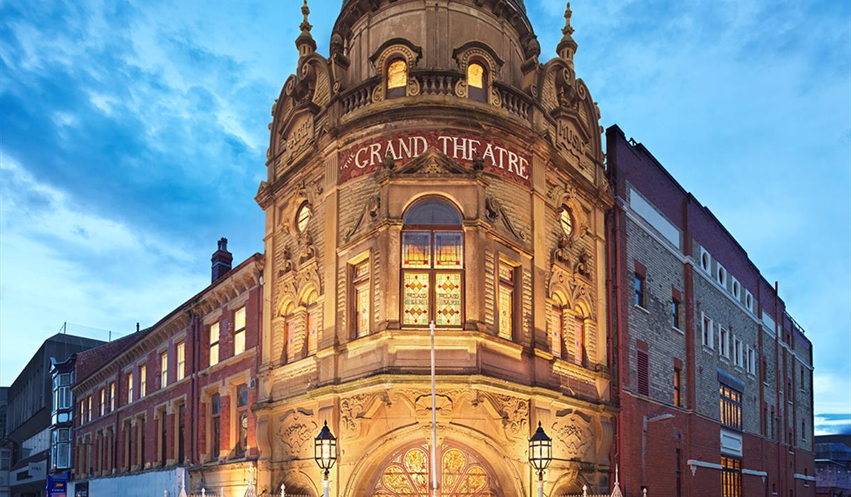 Grand Theatre Theatre In Blackpool Blackpool Visit