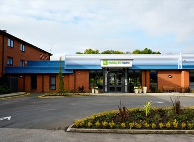 Front Of Hotel Holiday Inn Express Preston South
