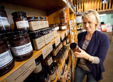 Bashall Barn Food Visitor Centre