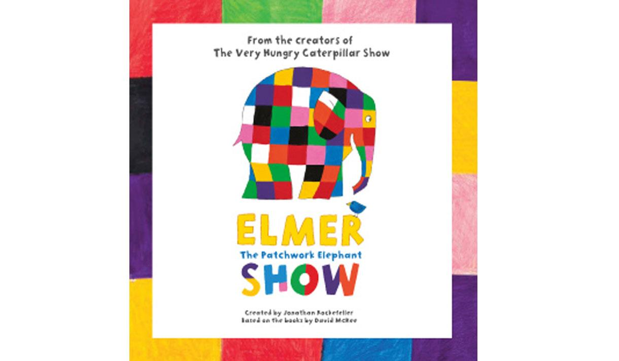 Elmer The Patchwork Elephant Show - Children's in Blackpool