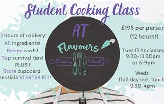 Student Pre-Uni Cooking Course at Flavours Cookery School
