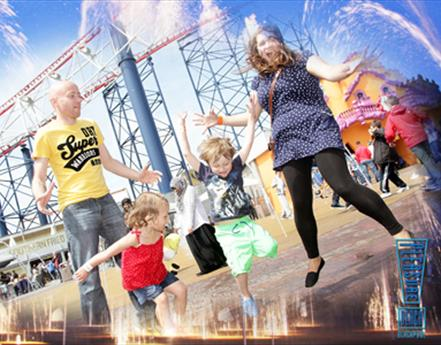 A Family Trip To Blackpool
