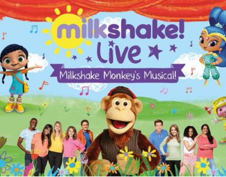 Milkshake! Monkey's Musical comes to Blackpool Pleasure Beach