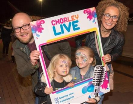 Excitement builds ahead of Chorley Live