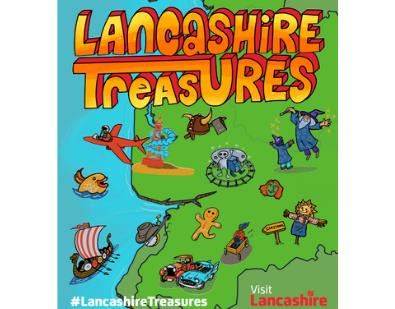 Thumbnail for Lancashire Treasures Map