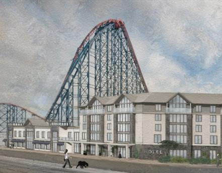 Blackpool Pleasure Beach Announce The Name of New £12m Hotel