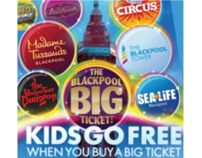 Thumbnail for Kids Go Free - Merlin Big Six Blackpool