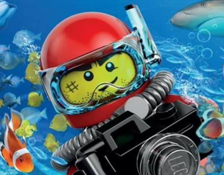 New LEGO® Ocean Explorers Trail Unveiled At SEA LIFE Blackpool