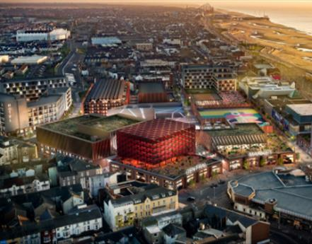 £300m Leisure Develpment Revealed For Blackpool Central Station Site