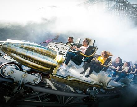 VISIT BLACKPOOL PLEASURE BEACH IN AUGUST AND COME BACK FOR FREE IN SEPTEMBER