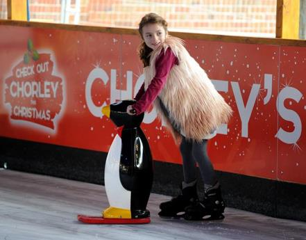 Skating in Chorley's Winter Wonderland