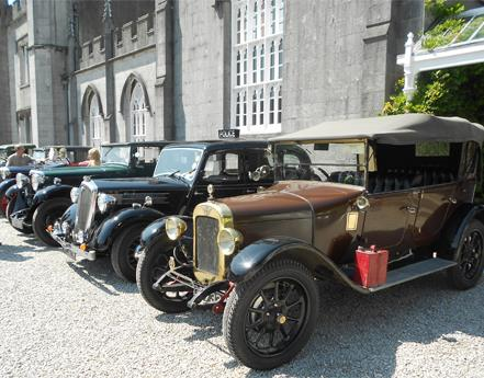 Leighton Hall Leads the Way with Largest North-West Classic Car Show