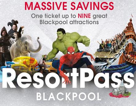 Blackpool Resort Pass is back with a new look and even bigger thrills!
