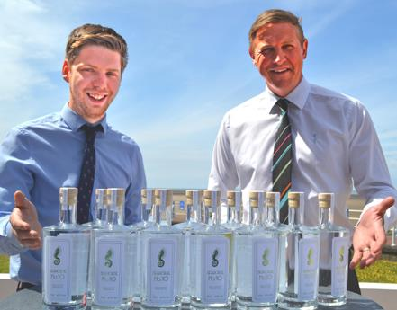 Midland Hotel celebrates anniversary with launch of premium gin