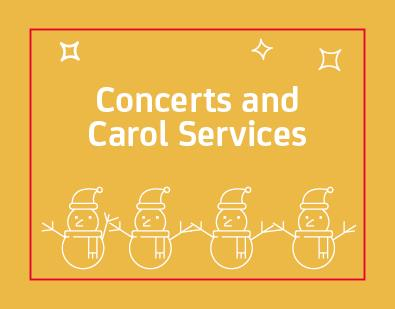 Thumbnail for Concerts and Carol Services