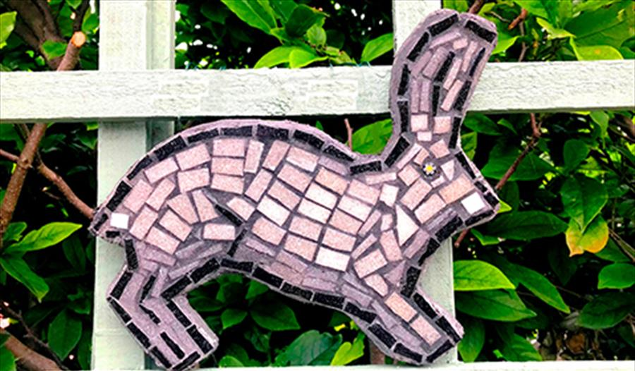Make Your Own Hand Sculpted Mosaic Garden Shape