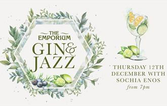 Gin & Jazz with Sochia
