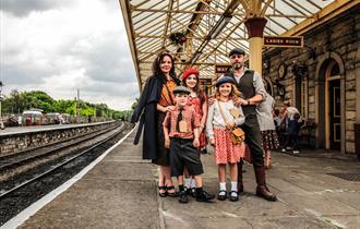 1940s Weekend at the East Lancashire Railway