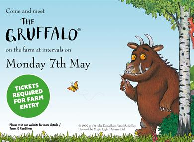The Gruffalo™Visit to Thornton Hall Farm