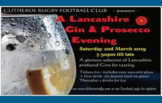 A Lancashire Gin and Prosecco Evening