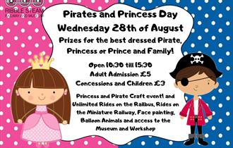 Ribble Steam Railway - Pirates & Princess Day