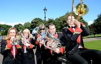 Brass Band Concerts in Happy Mount Park 2018