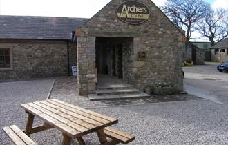Archers Cafe - outside