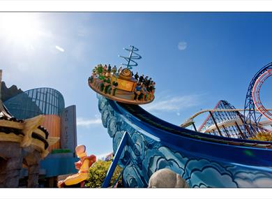 Blackpool Pleasure Beach's Nickelodeon Land