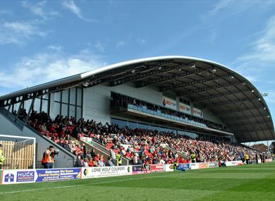 Fleetwood Town Football Club BES Stand