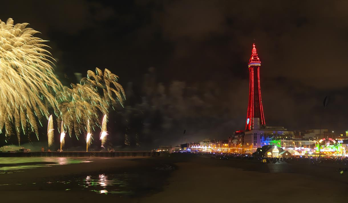 World Fireworks Championship Blackpool