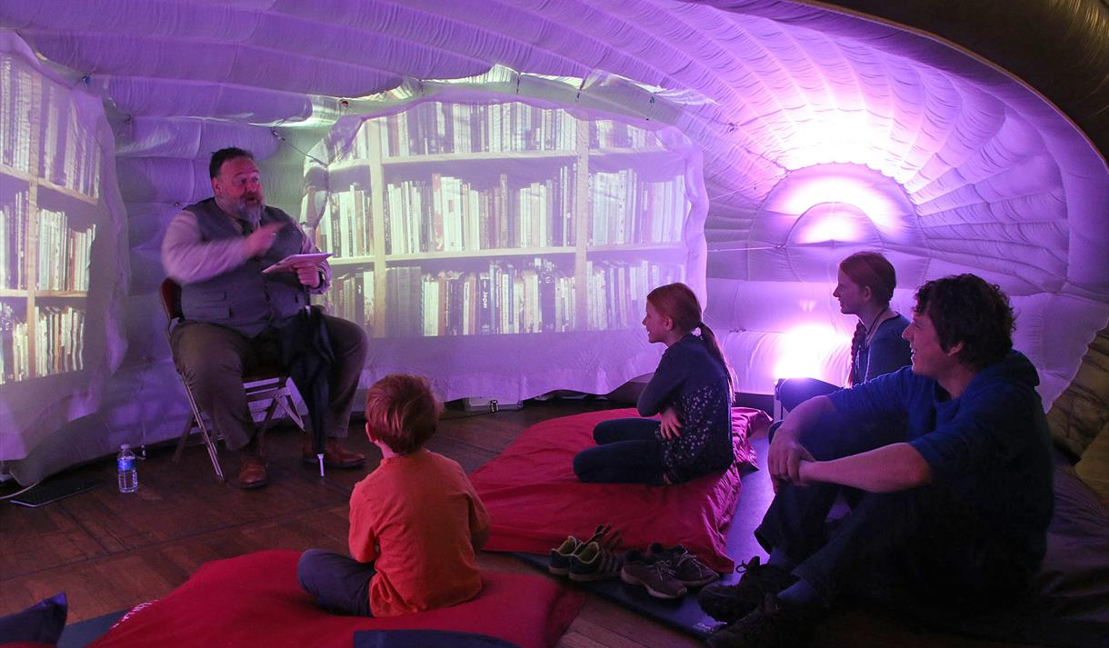 Pop-Up Story Cave