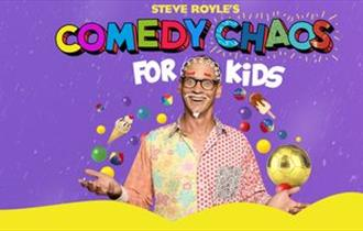 Steve Royle's Comedy Chaos for Kids at Blackpool Grand Theatre 2019