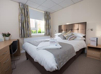 Lancaster Conferences double bedroom