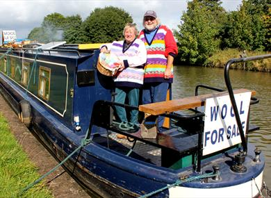 The Wool Boat - Colin and Carole's Creations