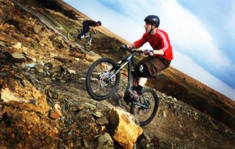 Cragg Quarry Mountain Biking