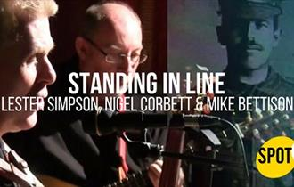 Standing In Line by Lester Simpson, Nigel Corbett & Mike Bettison