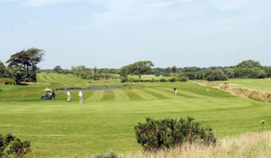 Hurlston Hall Golf Course