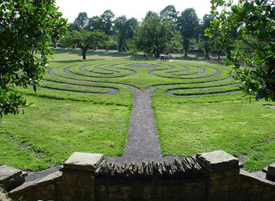 Clitheroe Castle Labyrinth