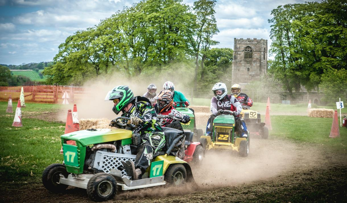 Lawn Mower Racing at Thornton Hall Country Park