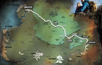 Pendle witches trail map