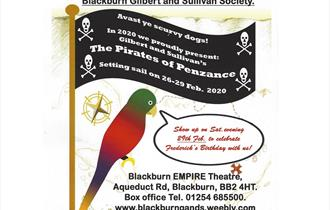 "Blackburn Gilbert and Sullivan Society ""The Pirates of Penzance"""