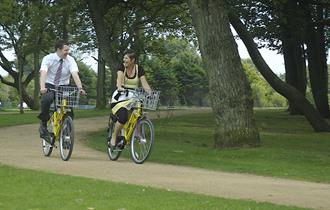 Blackpool Stanley Park - Hire Bikes