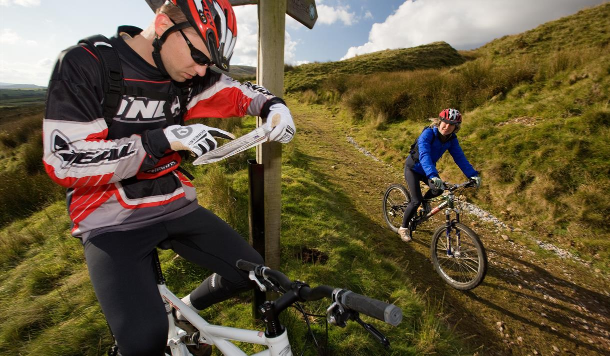 Mountain Biking in Lancashire