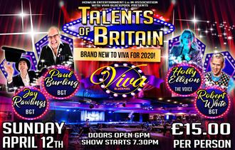 POSTPONED - Talents of Britain