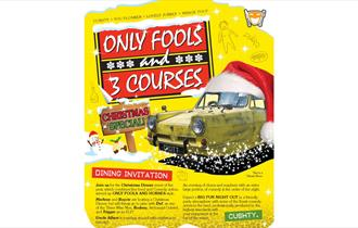Only Fools 3 Courses Christmas Dinner Show