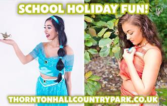 Special Princess Guests at Thornton Hall Country Park