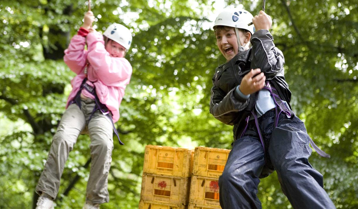 A wide range of activities on offer at Waddow Hall